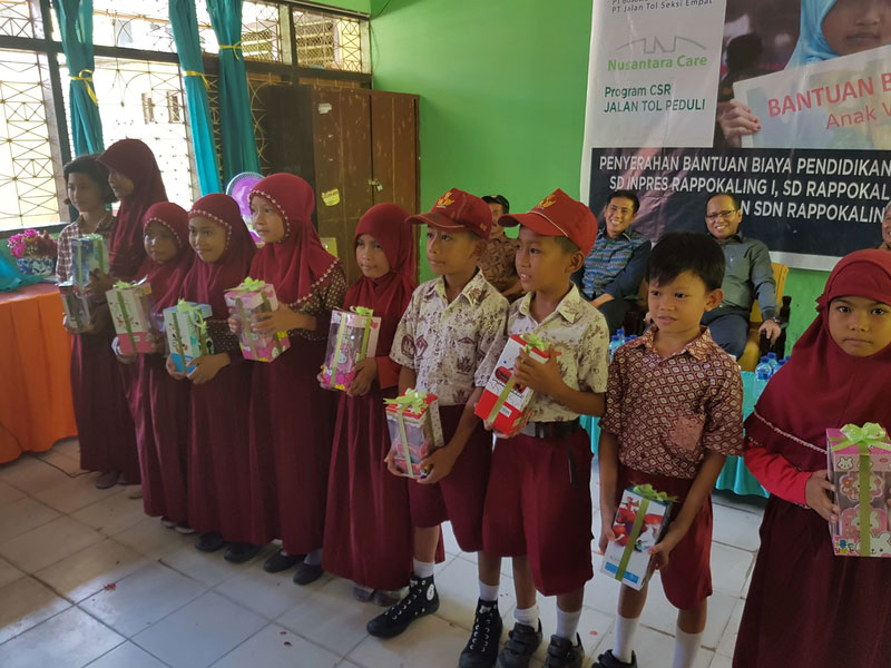 BMN-JTSE Peduli Pendidikan & Lingkungan